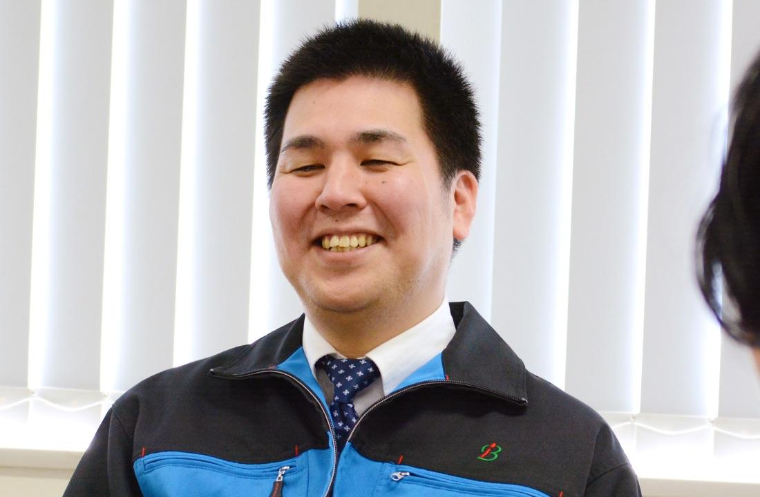 業務部主任/志田 素也